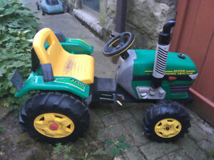 Tractor ride-on for toy