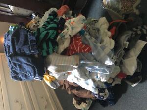 Boys newborn&3 mths baby clothes lot