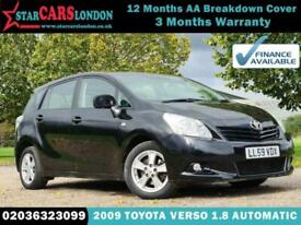 image for 2009 Toyota Verso 1.8 V-Matic TR M-Drive S 5dr (7 Seats) MPV Petrol Automatic
