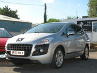 2010/60 PEUGEOT 3008 Crossover 1.6HDi SPORT 5 DOOR - OVER 60+ MPG !!!