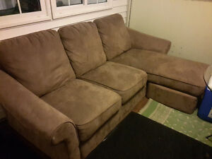 Couch with lounge set