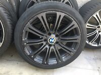 "Bmw M3 19"" Alloy Grey alloy Can post"