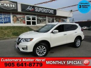 2018 Nissan Rogue AWD SV  AWD HTD-SEATS BT APPLE-PLAY ALLOYS