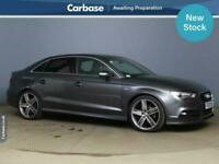 2015 Audi A3 2.0 TDI S Line 4dr S Tronic SALOON Diesel Automatic
