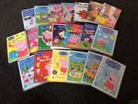 Selection of Peppa Pig & other kids DVDs