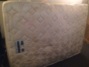 Double box spring and matress