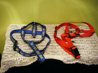 Two L-XL Dog Harnesses