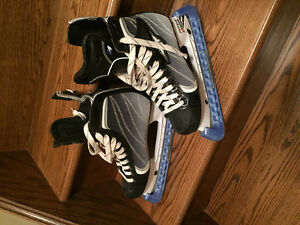 Size seven hockey skates for sale  $20