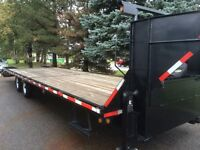 """2010 FLAT BED TRAILER 30"""" $8000"""