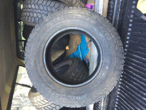 265 70 r17 set of 4 tires