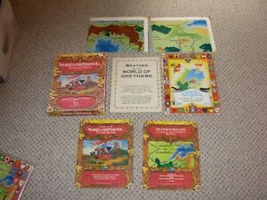 Dungeons and dragons Vintage Greyhawk Set