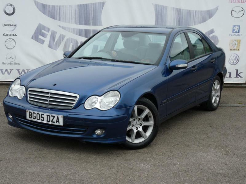 2005 mercedes c class c220 cdi classic se diesel full service history rear parki in caerphilly. Black Bedroom Furniture Sets. Home Design Ideas