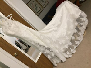 Once Upon A Bride Wedding Dress (Size 8)