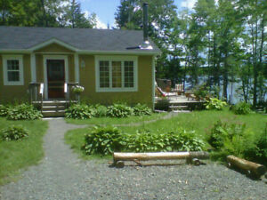 Cottage on Lake for Rent in Nova Scotia