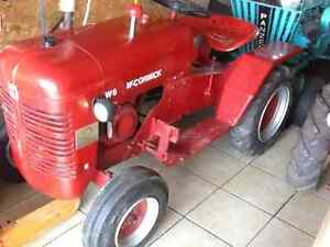 Antique reproduction lawn tractor