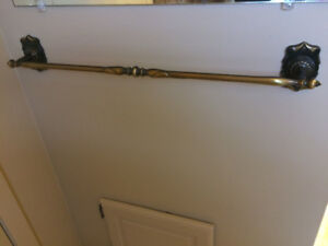 Bathroom Towel Rack, Ring and Toilet Paper Holder