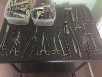 Vintage doctors clinical equipment