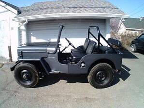 1954 Willys CJ3B Jeep