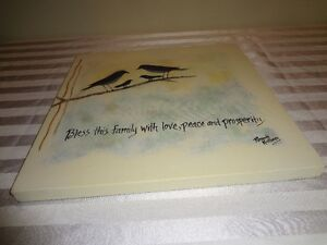 Printed canvas - new with tag