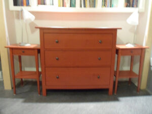 Commode et tables de chevet