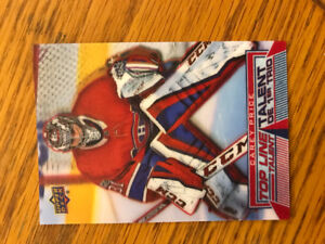 Carey Price Tim Hortons Hologram Card Top Line Talent