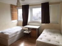 CHEAP AND NICE TWIN ROOM ALL AROUND LONDON, BILLS + WIFI INCLUDED