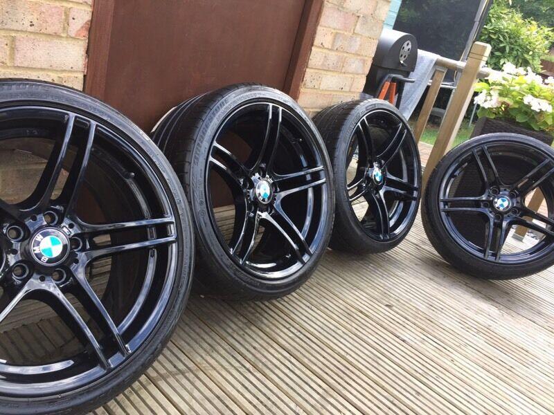 Genuine Bmw 3 Series 19 Quot 313 M Sport Alloy Wheels Amp Tyres