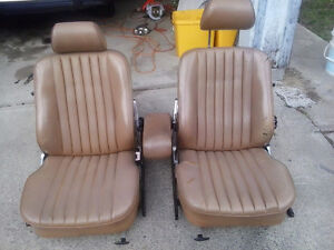 bucket seat mercedes 560sl 89