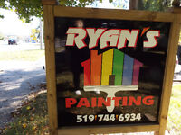 RYANS-PAINTING;DARE TO COMPARE;CALL MIKE 519-503-7017