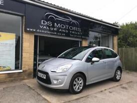 2013/62 Citroen C3 1.4HDi 8v VTR+ Silver Only 26,000 Miles