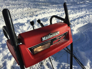 """Snowblower - strong 2 stage 26"""", 8 hp Mastercraft"""