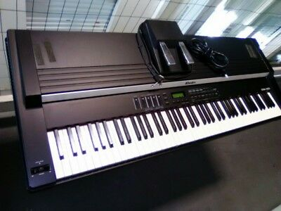 ROLAND Rhodes MK-80 Digital Electric LCD Piano Weighted 88-Key Keyboard w/Stand