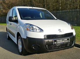 PEUGEOT PARTNER 1.6 HDI PROFESSIONAL L1 VAN 2013 13 SIDE LOADING DOOR 3 SEATS