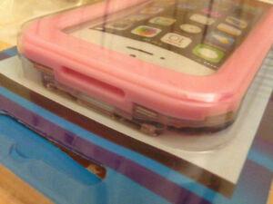 WATERPROOF pink CASE iPHONE 5 S, IPHONE 5, IPHONE 4