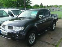 Mitsubishi L200 Barbarian Long bed double cab DIESEL MANUAL 2011/11