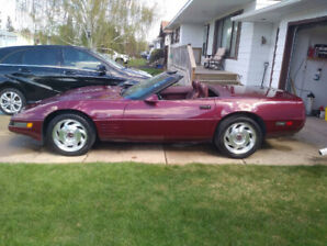 1993 Corvette LT1, 6 Speed 52,000kms, Parts or Race car Only.