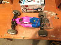 Team Associated B5 rear motor