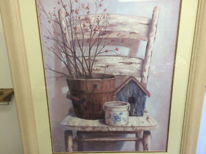 "Vivian Flasch ""Country Chair"" Print Sarnia Sarnia Area image 2"