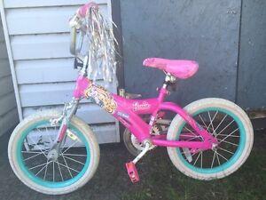 "Girls 16"" Barbie bike"