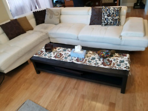 Living Room Set (sectional & table) NEED GONE!