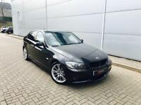 2006 56 reg BMW 330d M Sport Saloon + Black + Black leather + Automatic