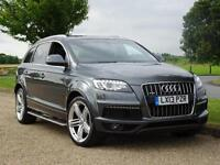 2013 Audi Q7 TDI QUATTRO S LINE PLUS Diesel grey Automatic