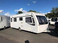 Lunar Clubman SI 4 Berth Caravan FIXED ISLAND BED, AWNING, VGC Bargain