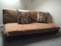 Comfortable sofa bed - as new