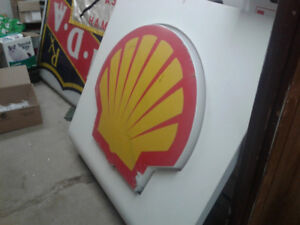 Shell Clam Sign