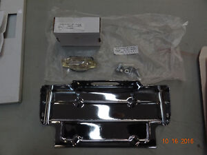 1967-72 Chevy Truck Chrome Rear Bumper w cut outs for exhaust Strathcona County Edmonton Area image 5