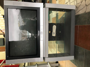 Panasonic HD Flat TV with TV stand
