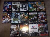 Play station 2 with 14 games