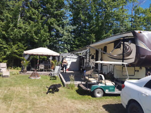 Roulotte Jayco Eagle 39 pieds  (Négotiable) Camping Lac Georges