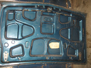 1966-67 Chevelle SS trunk lid, nice condition, sell trade London Ontario image 2